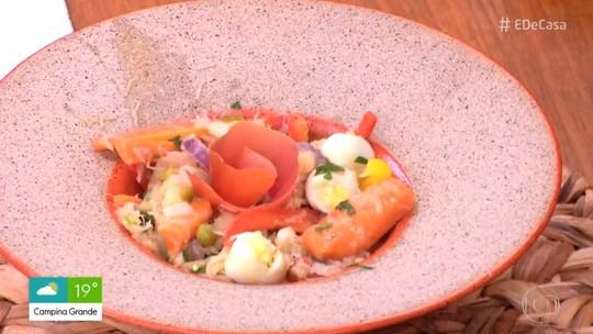 Salada de Bacalhau: Receita da Mãe do Luís Miranda