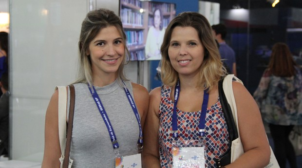 Natália Sperchi e Marcela Castilho: elas buscam dicas para formalizar a empresa (Foto: Fabiano Candido)