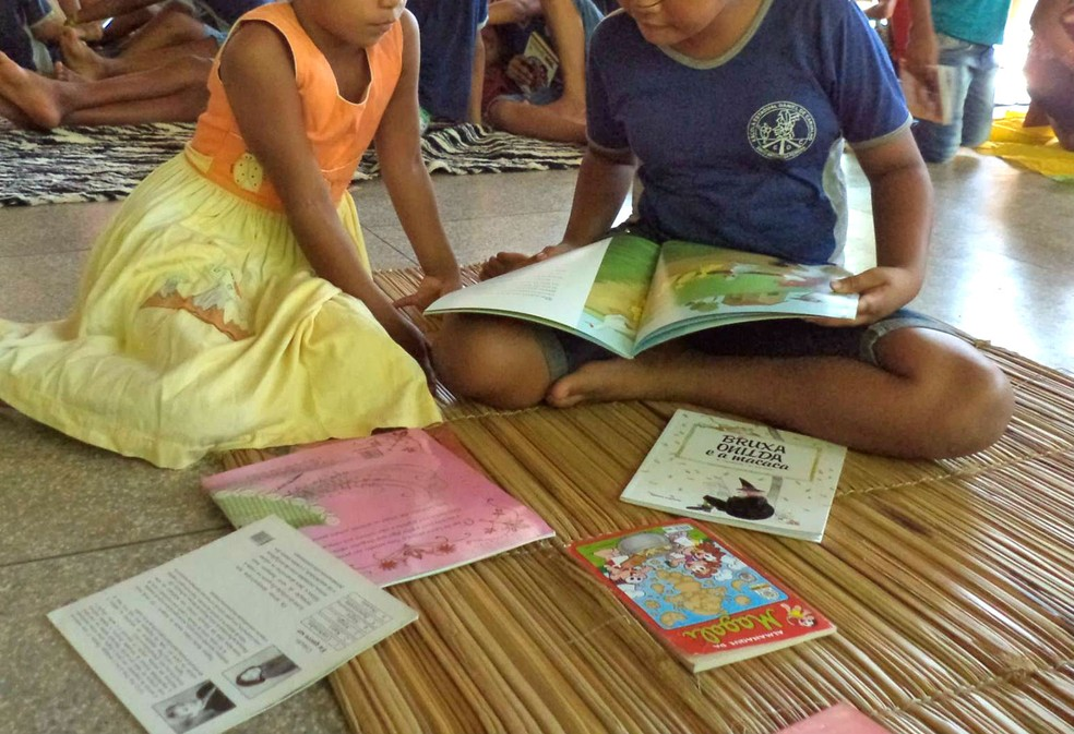 Crianças ribeirinhas de Macapá e Itaubal receberão doação de livros arrecadados em campanha (Foto: Reprodução/Facebook)
