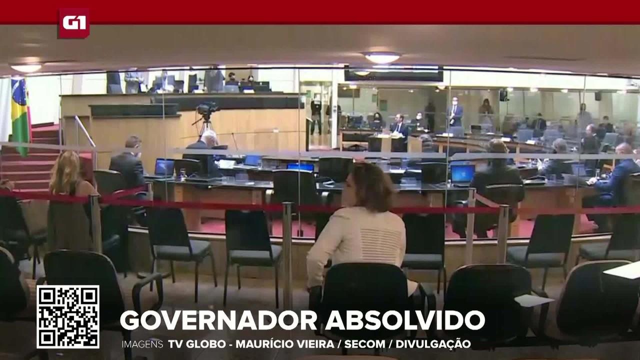 G1 em 1 Minuto: Governador de SC, Carlos Moisés é absolvido em processo de impeachment
