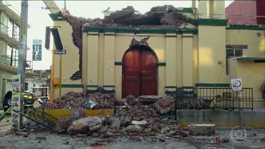 Terremoto deixa pelo menos trinta e três mortos no México
