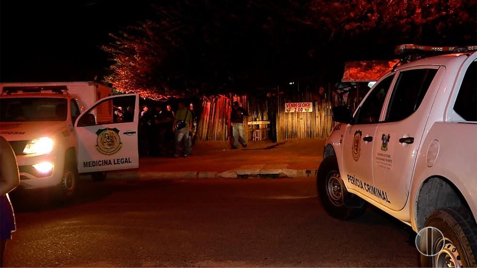 Duplo homicídio na Zona Norte de Natal — Foto: Reprodução/ Inter TV Cabugi