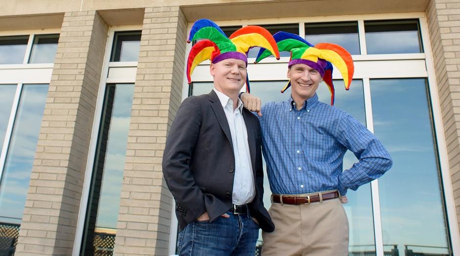 Fundadores da The Motley Fool (Foto: Divulgação)