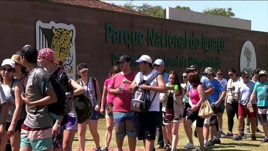 Parque Nacional do Iguaçu é o parque não urbano que mais recebe turistas no Brasil