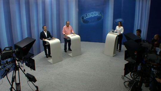 Candidatos ao governo de SE participam de debate na TV Sergipe