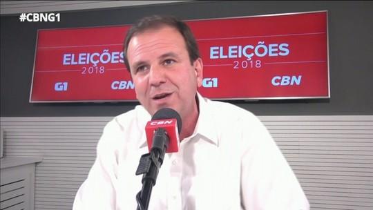 Paes quer teste de honestidade para servidor e rejeita associação com Cabral