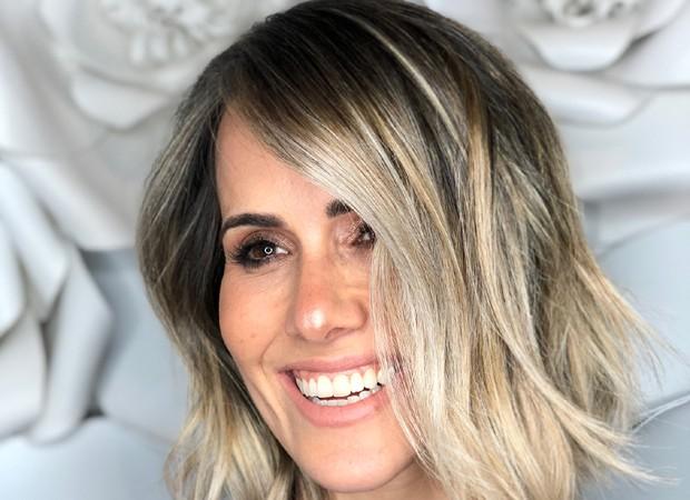 Fernanda Pontes muda o visual  (Foto: Divulgação)