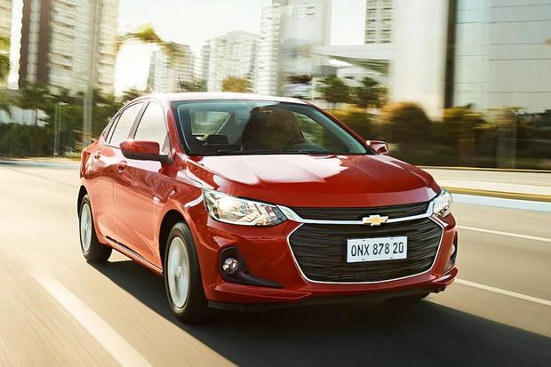Novo Chevrolet Onix sedã (Foto: Divulgação)