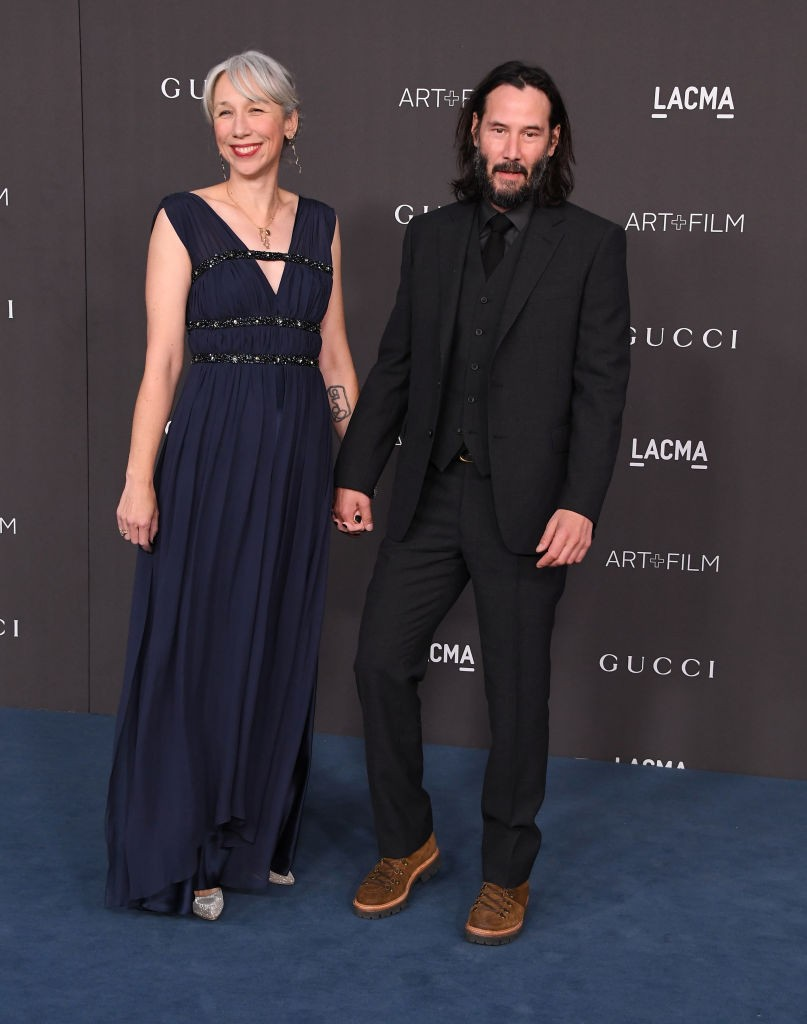 Alexandra Grant e Keanu Reeves (Foto: Getty Images)
