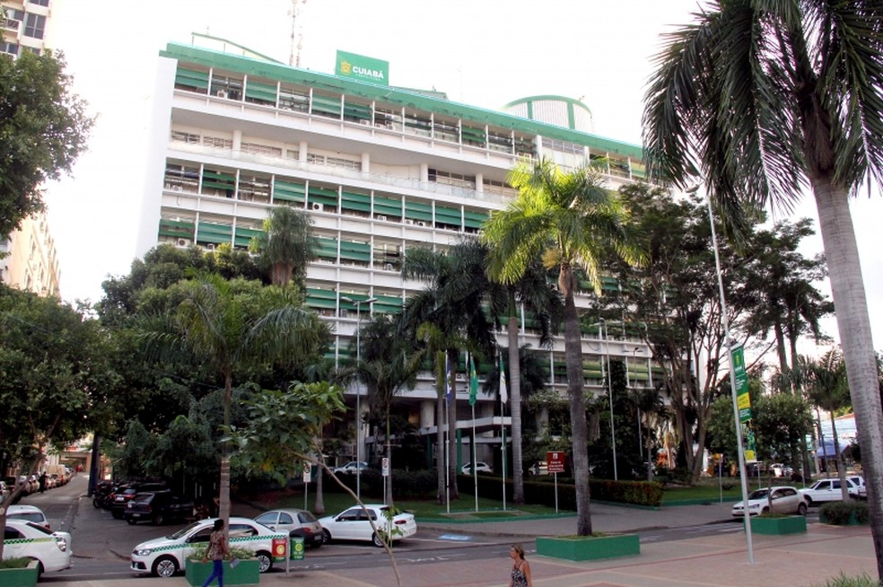 Prefeitura de Cuiabá (Foto: Luiz Alves)