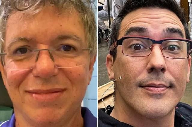 Boninho e André Marques se conhecem há mais de 20 anos (Foto: Reprodução)