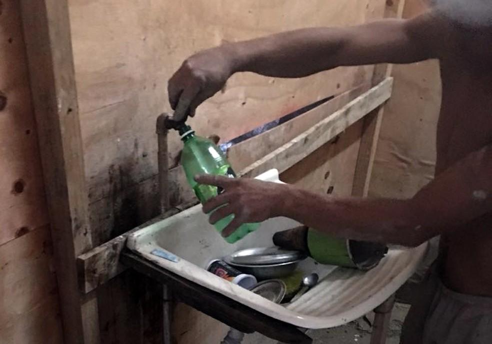 Cinco trabalhadores são resgatados de trabalho análogo ao escravo em obra de posto de saúde na BA, diz MPT (Foto: Divulgação/MPT-BA)