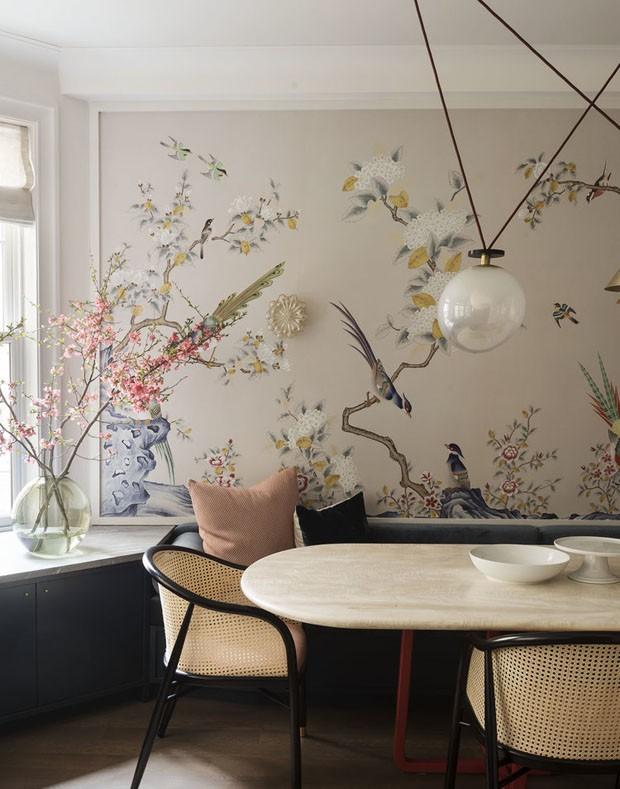 Décor do dia: sala de jantar contemporânea com toques orientais (Foto: Matthew Williams)
