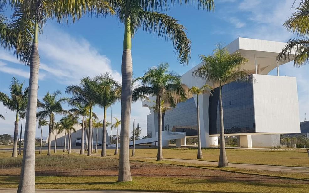 Cidade Administrativa, sede do governo de Minas Gerais — Foto: Thaís Pimentel/G1