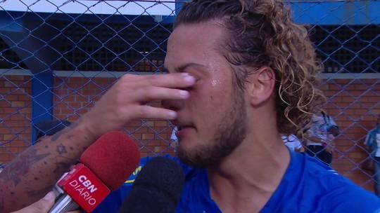 """Emocionado, Guga fala da volta do Avaí à elite do futebol brasileiro:""""Realizando um sonho"""""""