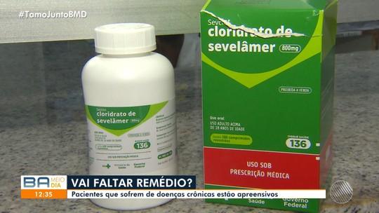 Ministério da Saúde suspende contratos de produção de 19 remédios e preocupa baianos