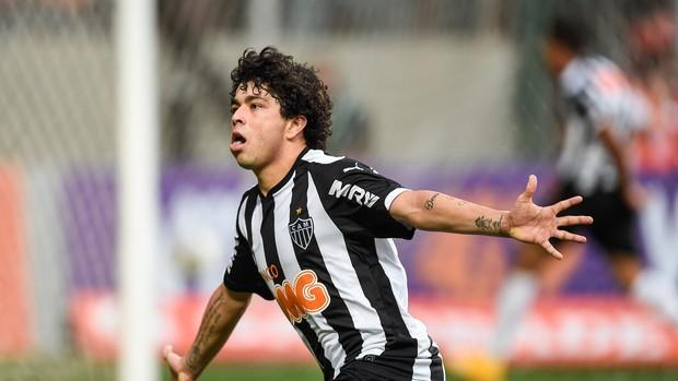 Luan gol Atlético-MG x São Paulo (Foto: Getty Images)