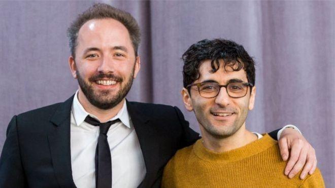 Drew Houston (à esquerda) não conhecia Arash Ferdowsi até lançarem juntos o Dropbox (Foto: Divulgação/Dropbox)