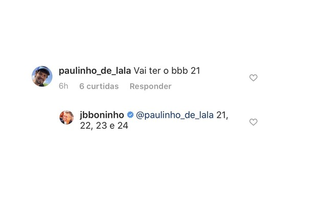 Boninho revelou que há mais quatro edições confirmadas (Foto: Reprodução)