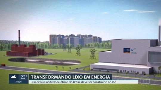 Primeira usina termoelétrica do Brasil deve ser construída no Rio