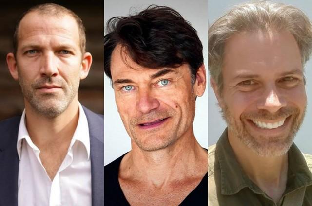 Tomas Spencer, Stefan Weinert e Brian Townes (Foto: Reprodução/Instagram)