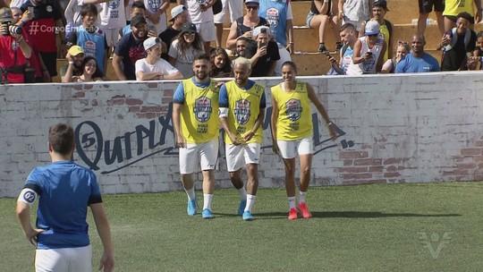 Neymar Jr's Five reúne atletas renomados do futebol e tem equipes europeias campeãs