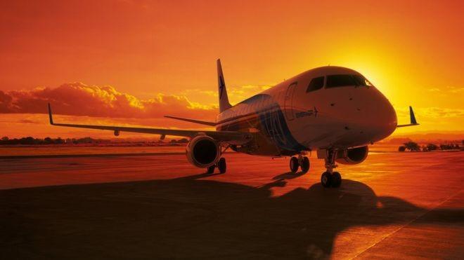 Atualmente a Embraer está entre as maiores fabricantes de jatos de passageiros do mundo (Foto: DIVULGAÇÃO/EMBRAER)