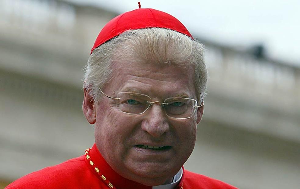 O arcebispo de Milão, Angelo Scola, era um dos favoritos para suceder Bento 16 — Foto: AFP