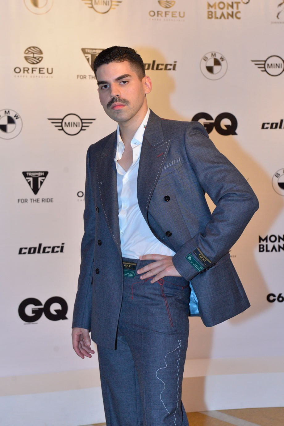 Mateus Carrilho no Men of The Year (Foto: )