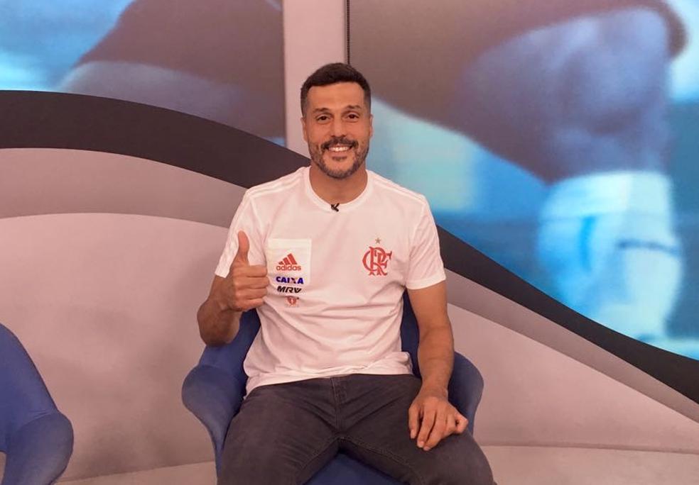 """Julio Cesar participa do """"Bem, Amigos!"""" desta segunda-feira (Foto: SporTV.com)"""