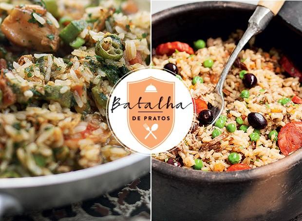 Batalha de pratos: Brasil x Bélgica (Foto: Casa e Jardim)