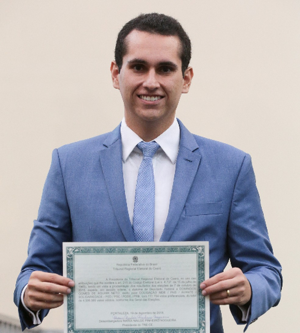 Deputado Domingos Neto (PSB) — Foto: Saulo Roberto/Sistema Verdes Mares