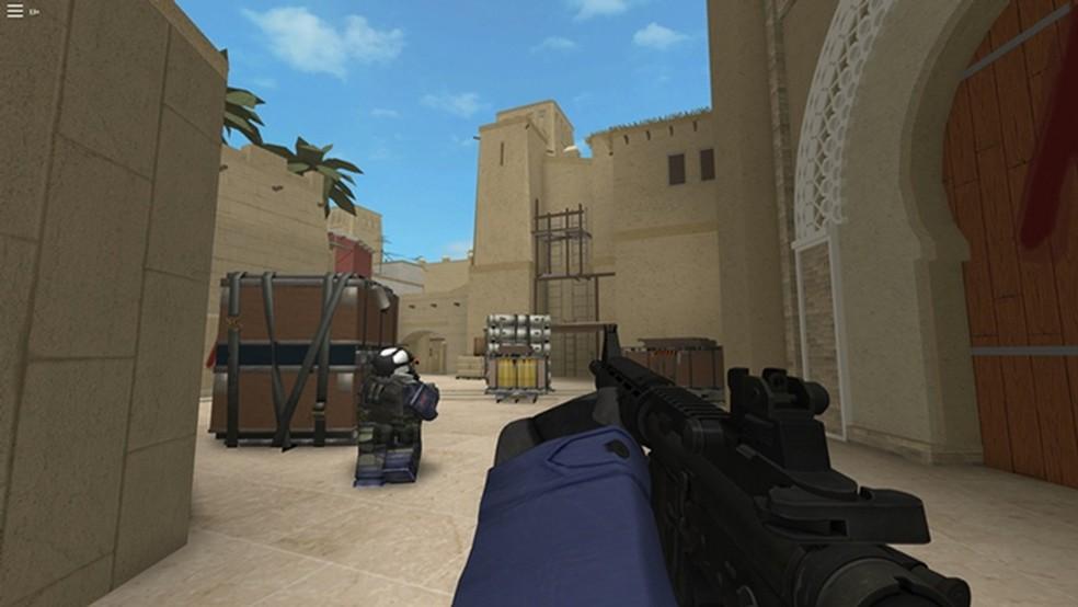 Counter Blox é uma versão de Counter-Strike: Global Offensive para Roblox — Foto: Reprodução/Roblox