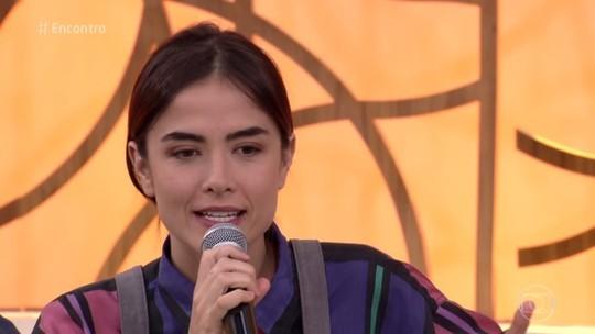 Maria Casadevall comenta romance de Rimena e Gustavo em 'Os Dias Eram Assim'