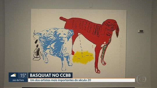Obras de Basquiat ficam expostas em Belo Horizonte até setembro