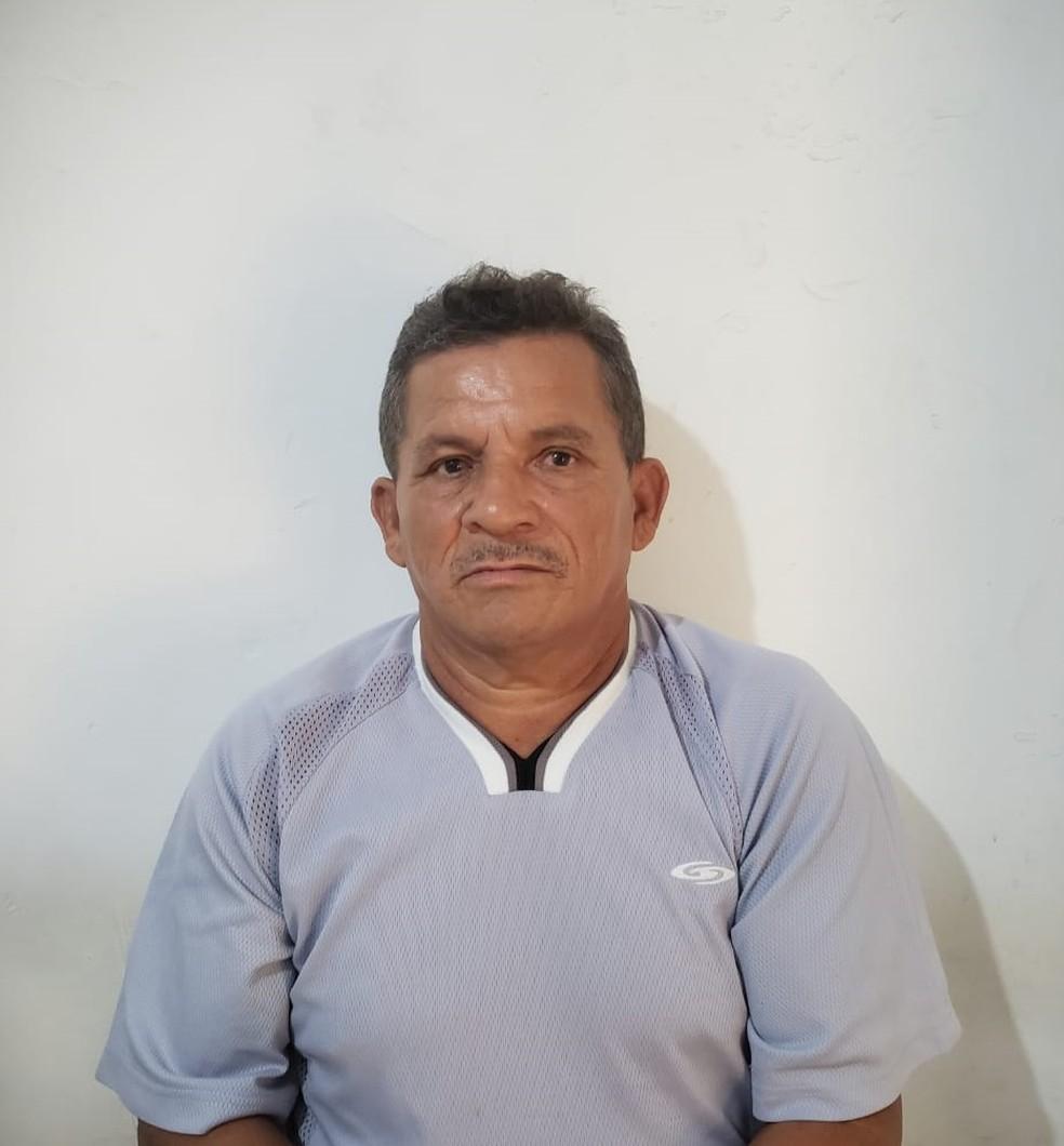 José Ribamar Alves foi preso e encaminhado ao Presídio de Rosário — Foto: Divulgação/Polícia