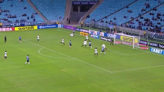 Grêmio encaixa sem improvisos e encontra primeira vitória com embalo de Vizeu e Tardelli