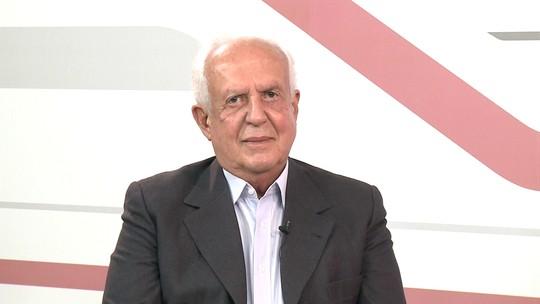 Candidato ao Senado Jarbas Vasconcelos é entrevistado pelo G1