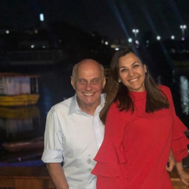 Veruska e Boechat (Foto: Reprodução Instagram)