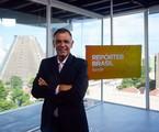 Luiz Carlos Braga, apresentador do 'Repórter Brasil' | Divulgação