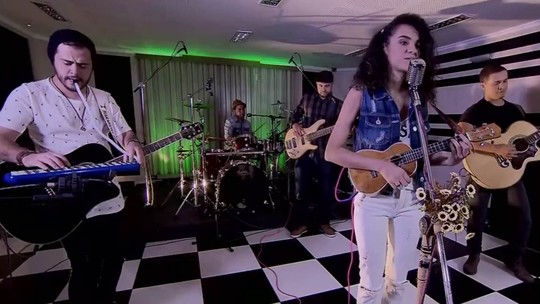 Banda Sound.Fé grava música no Brasília Independente; veja vídeo
