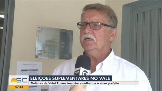 Helmut Stoltenberg, do PP, é eleito prefeito de Vidal Ramos