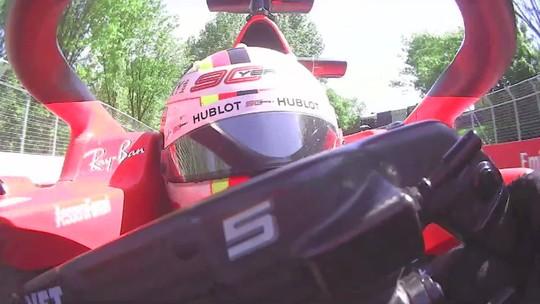 Ferrari entra com pedido de revisão da punição a Sebastian Vettel no GP do Canadá