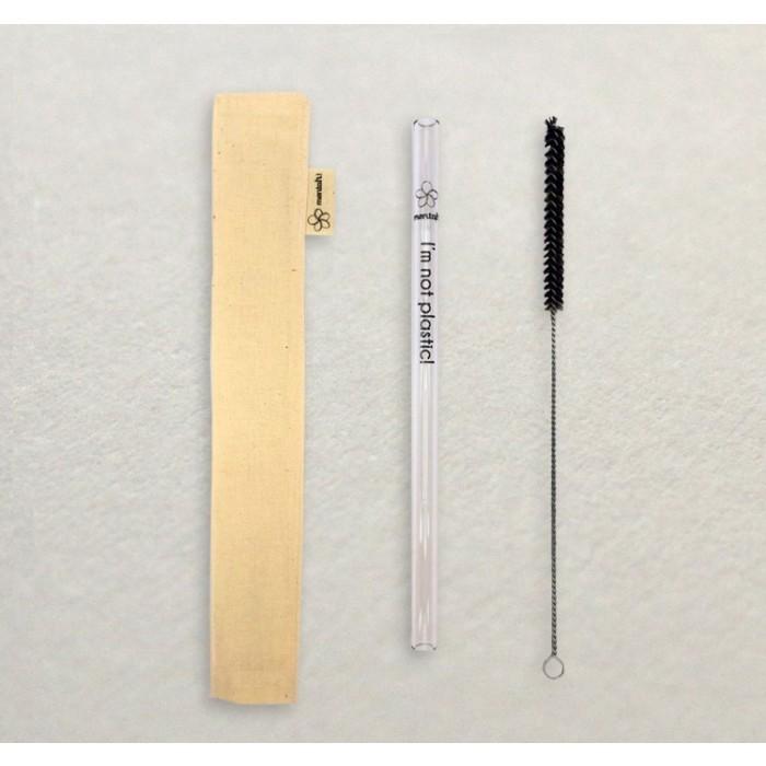 Kit de canudo de vidro da Mentah (Foto: Mentah)
