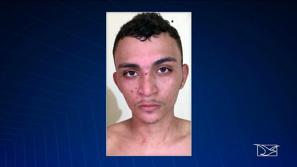 Carlos Daniel foi preso na última terça-feira (30) usando tornozeleira eletrônica. — Foto: Reprodução/TV Mirante