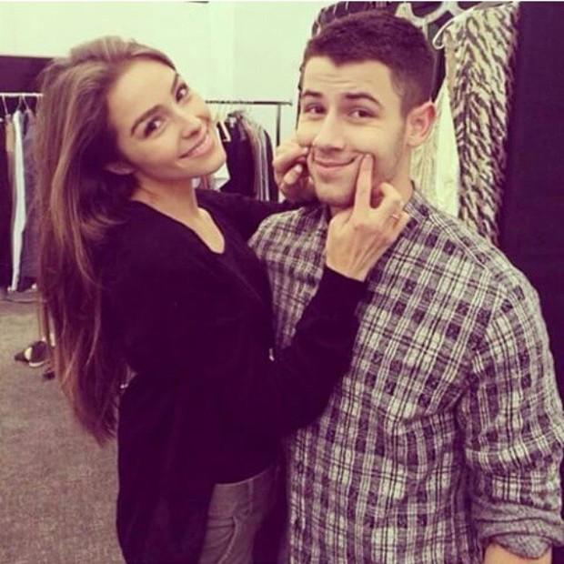 Olivia Culpo e Nick Jonas (Foto: Reprodução/Instagram)