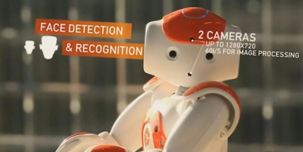 Robô NAO, da companhia japonesa Softbank Robotics (Foto: Reprodução/Softbank Robotics)