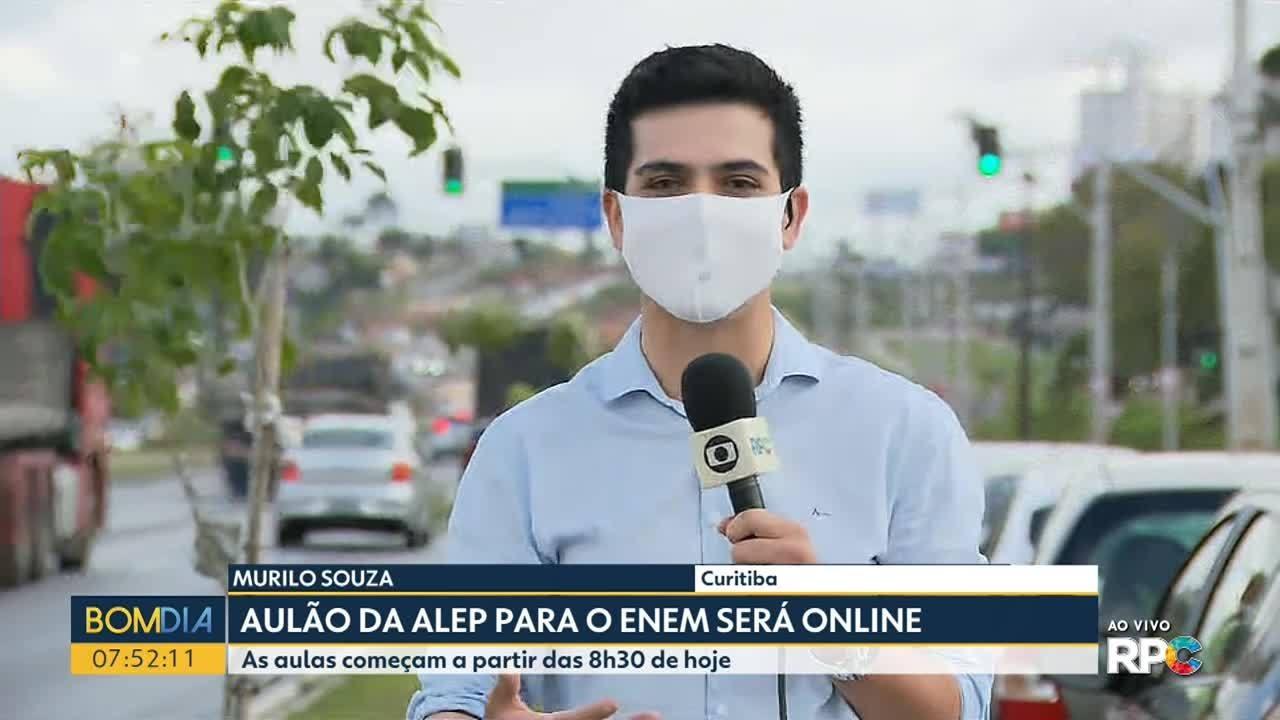Assembleia Legislativa do Paraná faz aulão online para o Enem