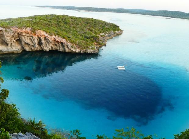 Dean's Blue Hole, no Bahamas (Foto: Thinkstock)