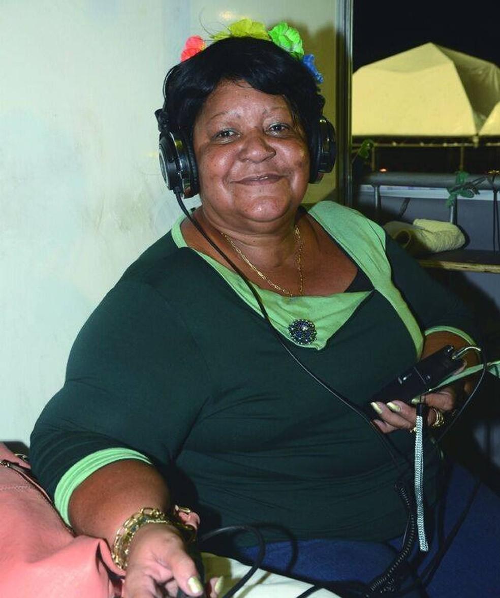 Morre aos 67 anos a radialista Helena Leite — Foto: Reprodução/Redes Sociais